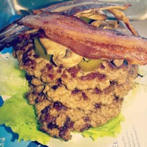 Vertigo Burger at Elevation Burger